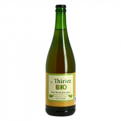 Brewery THIRIEZ Organic blonde beer from Flanders 75 cl