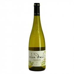 Saumur Blanc Clin d'Oeil (Wink) White Loire Valley Wine.