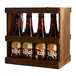 KWAK Belgian Beer Gift Box of 4 X 33 cl+ 1 Beer Glass