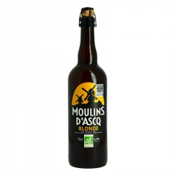 Moulins d'Ascq Organic French Blond Beer 75 cl