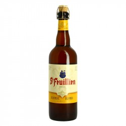 ST FEUILLIEN Belgian blonde abbey beer 75cl