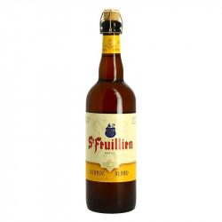 St FEUILLIEN Blond abbey Belgian beer 75cl
