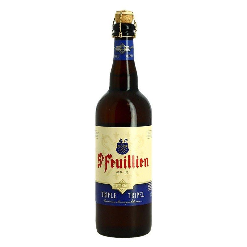 ST FEUILLIEN Belgian beer Triple abbey 75cl