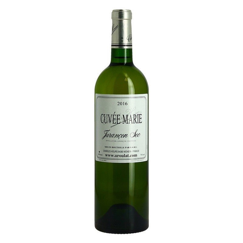 Cuvée Marie Dry Jurancon Wine by Clos Uroulat Charles Hours