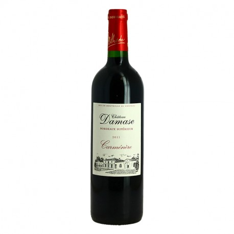 Damase Red Bordeaux Carmenere Grape Based