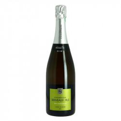 Champagne Serveaux Blanc de Blancs Pure Chardonnay Champagne