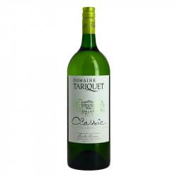 Tariquet Classic Dry Fruitty Cote de Gascogne White Wine Magnum