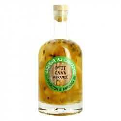 P'tit Calva Arrangé Passion Fruit Pineapple 50 cl Calvados Liqueur