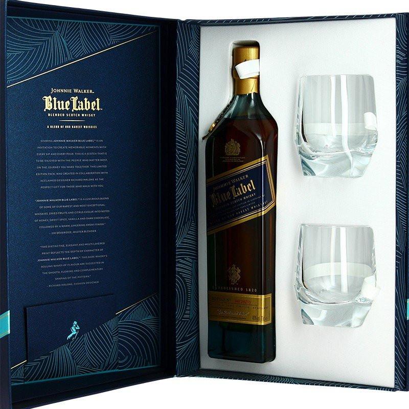 Johnnie Walker Blue Label Blended De Luxe Whiskey