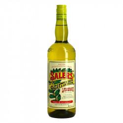 GENTIANE liqueur SALERS Yellow Cap Alfred Labounoux 16 ° 1 Liter