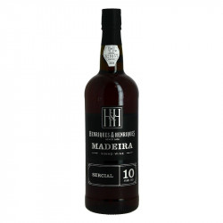 Madeira Henriques & Henriques Grape Variety SERCIAL 10 years