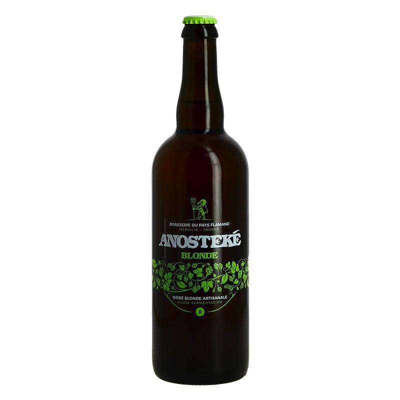 ANOSTEKE Blond Craft Beer 75 cl Best Blond Beer in the World World Beer Awards