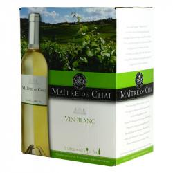 Boxed Wine Maître de Chai White wine 5L