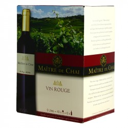 Boxed red wine Maître de Chai Red 5L