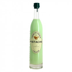 Pistachio cream liqueur by jacques fisselier