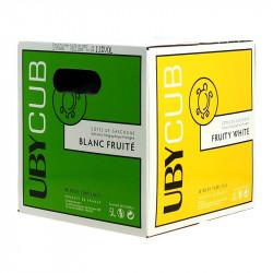 Domaine Uby dry white wine Côtes de Gascogne IGP Ubycub BIB 5L