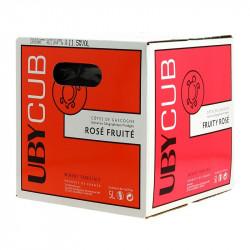 Boxed Wine Domaine Uby Red Côtes de Gascogne Wine UBYCUB BIB 5L