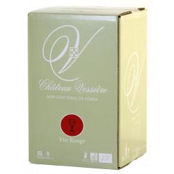Château Vessiere Boxed Red Wine 5 Liters Costières de Nîmes
