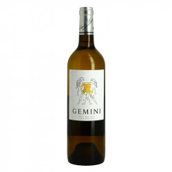 GEMINI medium dry white wine  by Charles Hours Gros Manseng and Petit Manseng