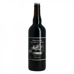 L'EXUTOIRE STOUT Artisanal Beer Brasserie des 4 Ecluses 75cl