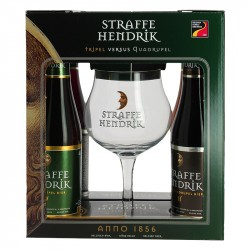 STRAFFE HENDRIK Beer Gift Box 4X33 cl + 1 Beer Glass