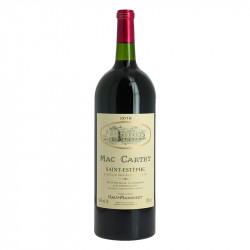 buy wine st Estephe Mac Carthy 2018 Bordeaux red wine Magnum 1.5 l, a wine produced and vinified by Haut Marbuzet