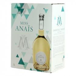 BIB Miss Anaïs White Wine Chardonnay Viognier 3 Liters