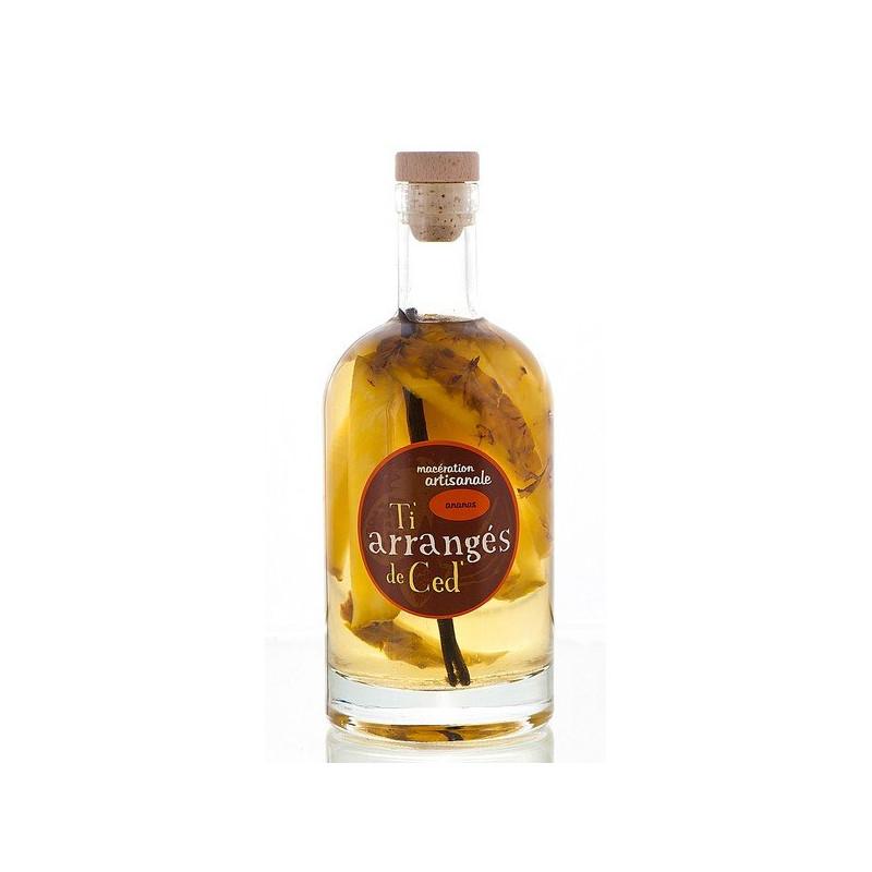 Punch Rum Pineapple Half Bottle Arranged Rum by Ced