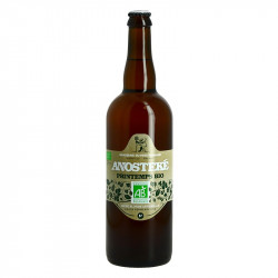 Beer ANOSTEKE BIO Blond by the Brasserie du Pays Flamand 75CL