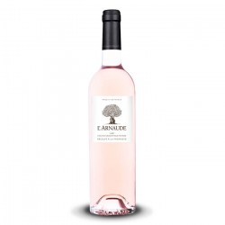 L'Arnaude rosé wine by Famille Bréban IGP Var