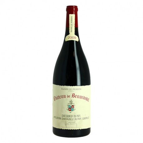 Chateau de Beaucastel 2009 Magnum Red Chateauneuf du Pape by Perrin Familly