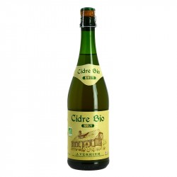 Organic Brut Cider by Verrier