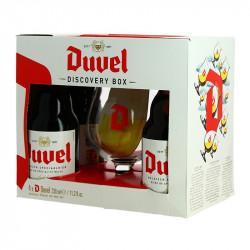 Box Belgian Beer DUVEL 4 X 33 cl + 1 Glass