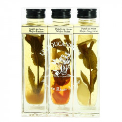 MOJITO Cocktail Gift Pack 3 x 20 cl by Jacques Fisselier