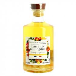 Arranged Cognac Rhubard and Exotic Fruits Duché d'Aquitaine 70 cl