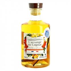 Arranged Cognac Orange Vanilla Cinnamon Duché d'Aquitaine 70 cl