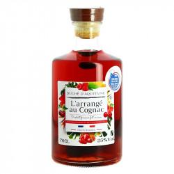 Arranged Cognac with red fuits Duché d'Aquitaine 70 cl