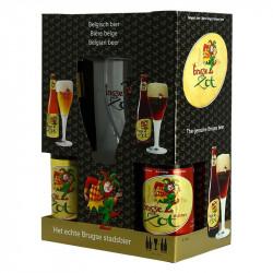COFFRET BRUGGSE ZOT 4X33CL + 1 VERRE