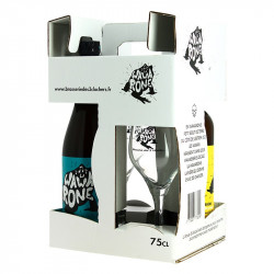WAWARONE Craft Beer Gift Box 2x 75CL + 2 glasses