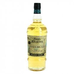 Rum Trois Rivières Cannes Brulées Agricultural Rum from Martinique 70 cl