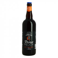 Prima Melior Beer Amber Beer from Clairmarais Abbey 75 cl