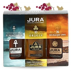 JURA 3 x 5 cl Gift Pack Highlands Jura Single Malt Whiskey