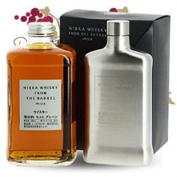 COFFRET NIKKA FROM THE BARREL  FLASQUE 50CL