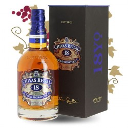 CHIVAS REGAL 18 Years Old de Luxe Blended Scotch Whiskey