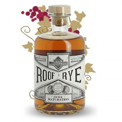 ROOF RYE Whiskey Double Maturation by Warenghem Distillery