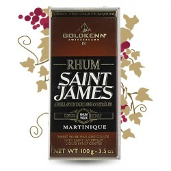 JACK DANIEL'S TABLETTE SAINT JAMES 100GR