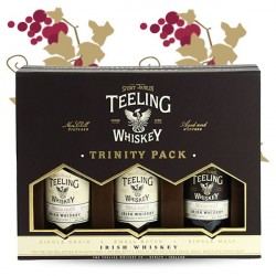 TEELING Irish Whiskey Trinity Pack 3 x 5 cl