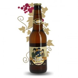 D-day Craft Blonde Beer 33 cl