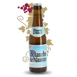 Bière belge blonde Blanche de Namur 33 cl