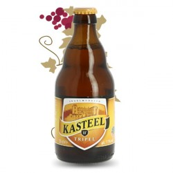 KASTEEL Belgian Tripel Beer 33cl